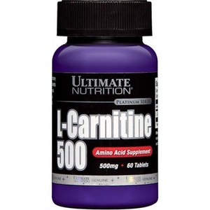 Ultimate Nutrition L-Carnitine 500 mg - 30кап
