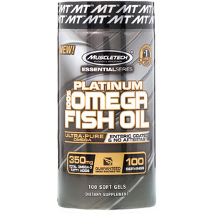 Platinum 100% Omega Fish Oil - 100 капс.